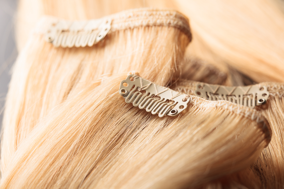 Extensiones cortina cosida cabello hind largura 45 y 55 cm - Extensiones cortina ...